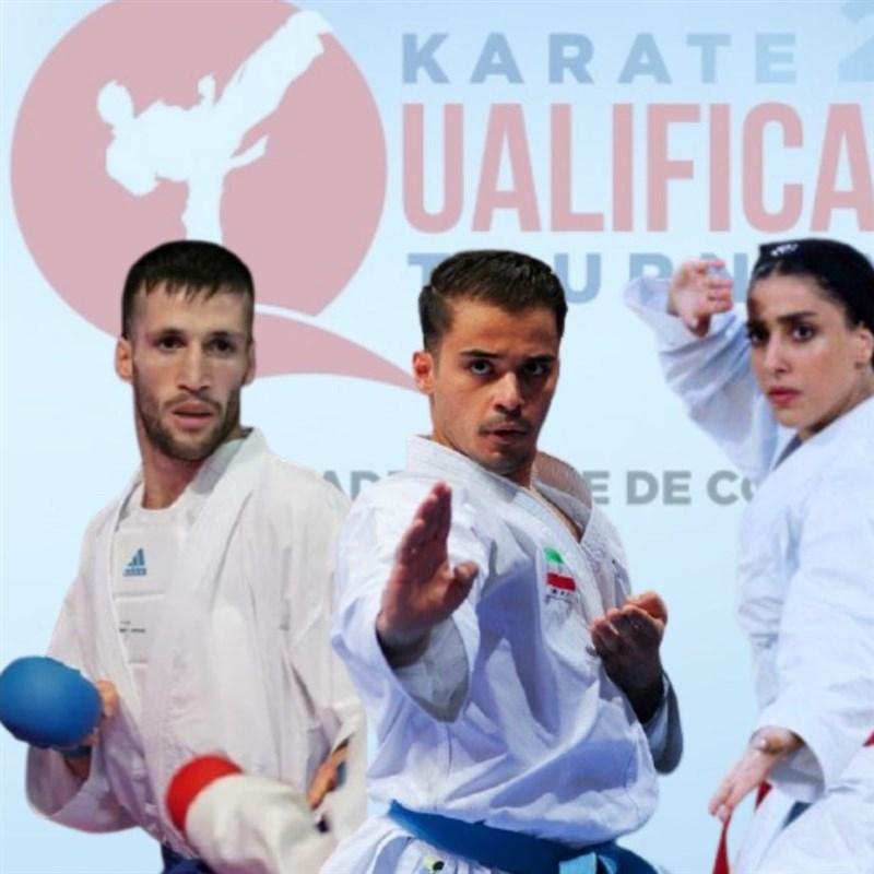 مسابقات کاراته گزینشی المپیک  نمایندگان ایران حریفان خود را شناختند