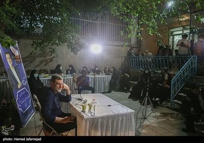 دیدار سید امیرحسین قاضی زاده هاشمی کاندیدای سیزدهمین دوره انتخابات ریاست جمهوری با فعالان فضای مجازی1400