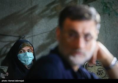 زهرا شیخی رئیس ستاد انتخاباتی امیرحسین قاضی زاده هاشمی