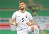 مدافع عراق با شکست کرونا به بازی با ایران میرسد