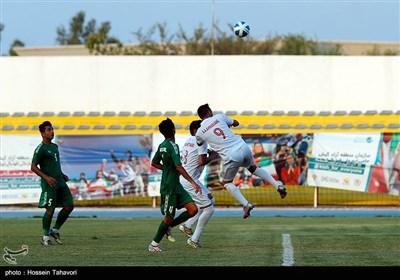 فینال مسابقات فوتبال ناشنوایان - کیش