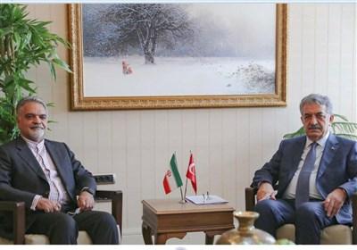 دیدار سفیر ایران با معاون سیاسی دبیر کل حزب عدالت و توسعه ترکیه