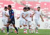 انتخابی جام جهانی 2022  برتری پرگل ایران مقابل کامبوج در 45 دقیقه نخست