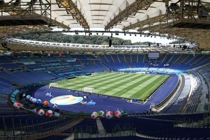 14000321201513605229542510 - یورو 2020| ورزشگاه المپیکو در آستانه بازی افتتاحیه + عکس
