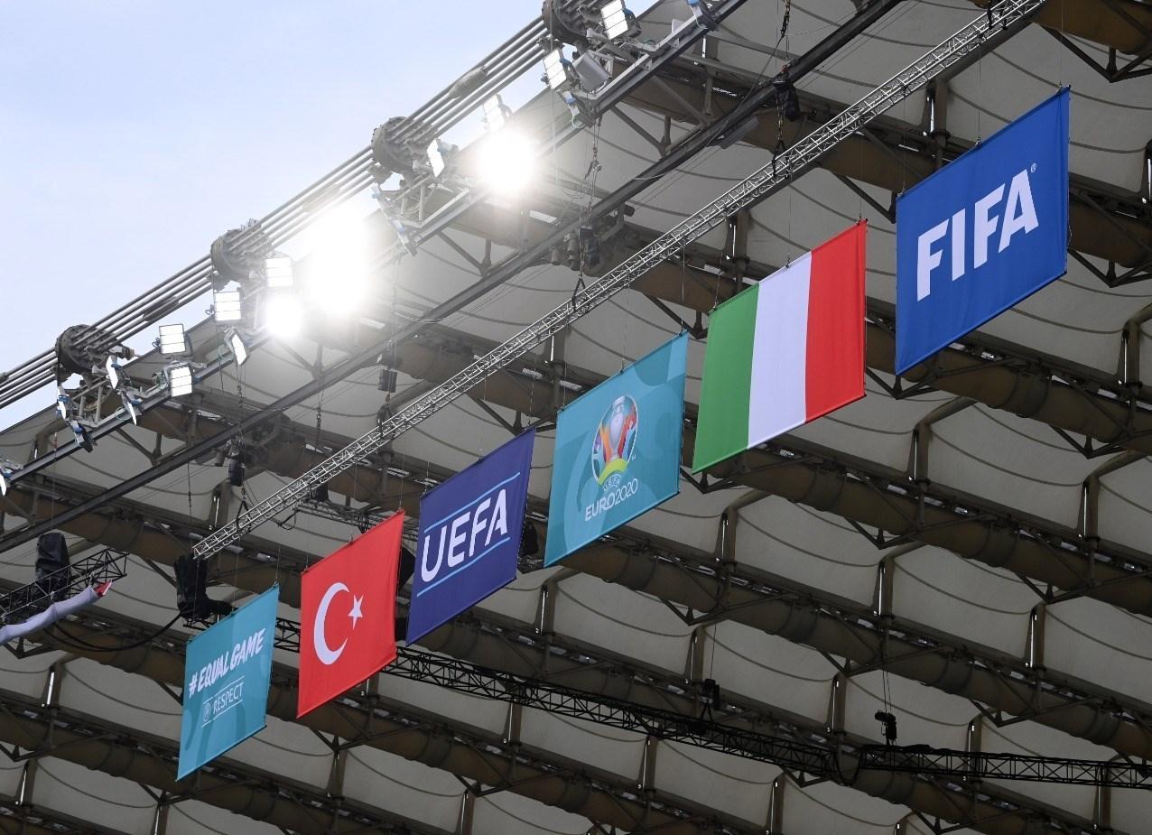 14000321221512513229552810 - مراسم افتتاحیه یورو 2020 مختصر و مفید برگزار شد + عکس