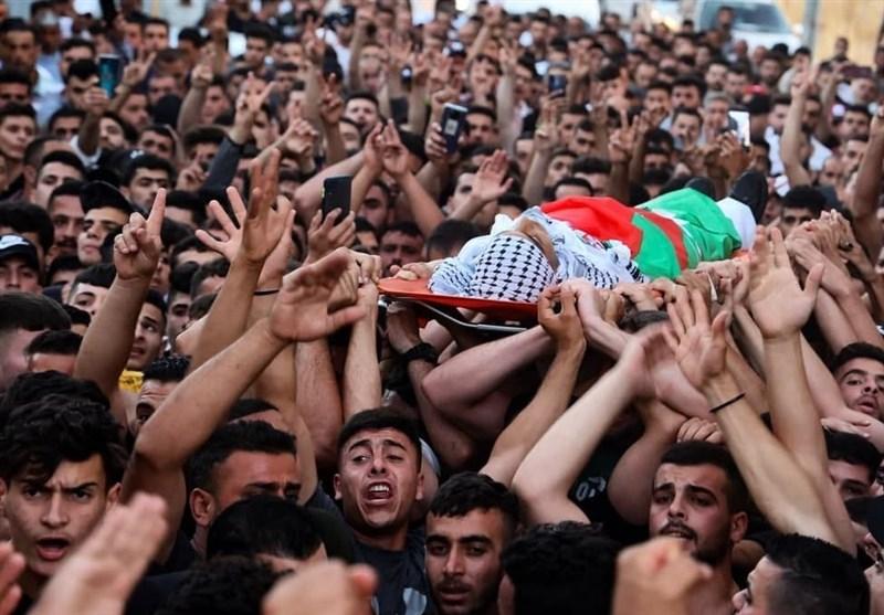 یک شهید و 110 مجروح در درگیریهای نابلس/موافقت پلیس اسرائیل با برگزاری راهپیمایی پرچم در قدس
