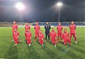 تورنمنت فوتبال جوانان کافا|تساوی شاگردان آزمون برابر ازبکستان
