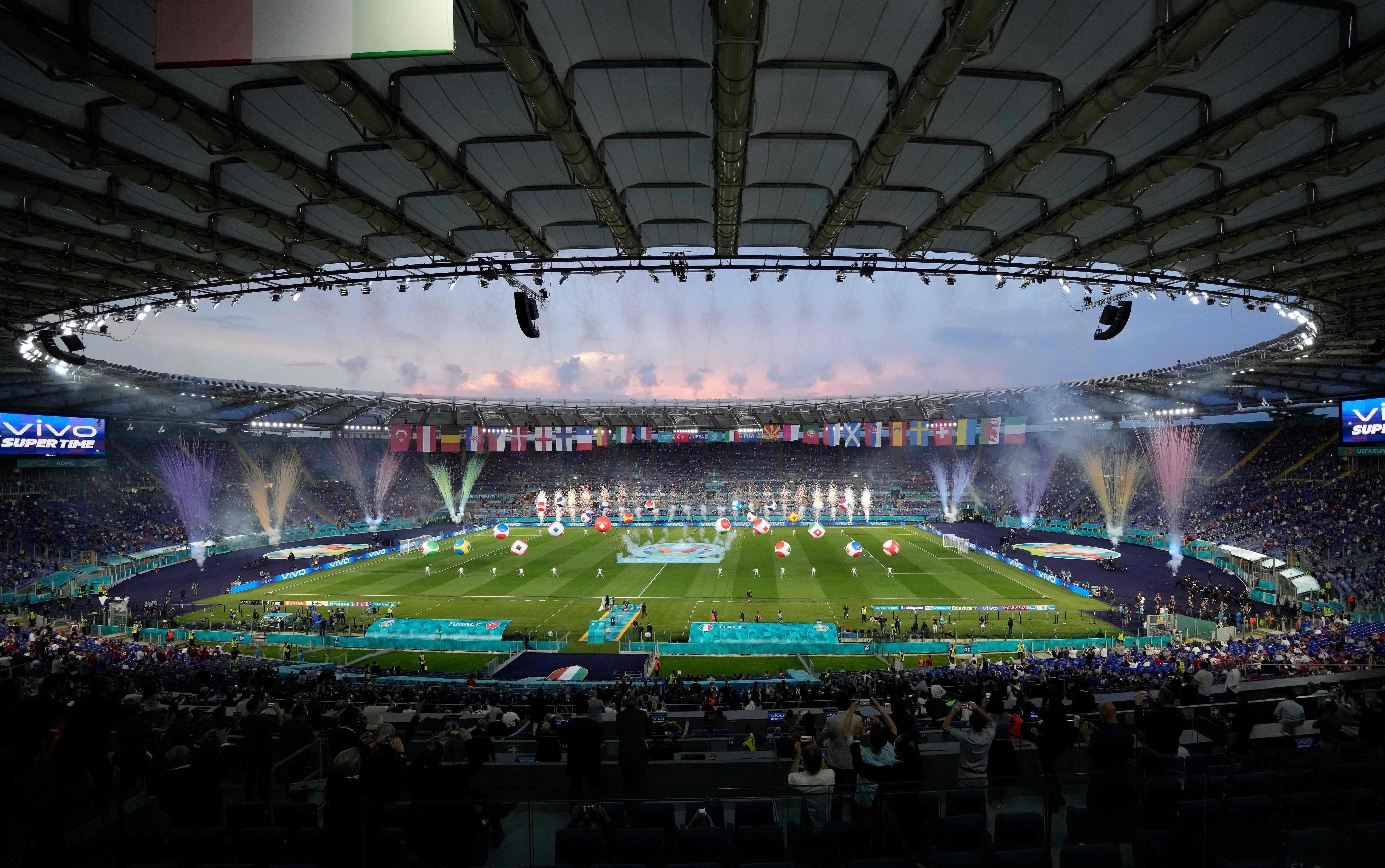 1400032123244799229553810 - مراسم افتتاحیه یورو 2020 مختصر و مفید برگزار شد + عکس