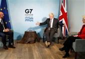 تاکید جانسون بر حمایت از تمامیت ارضی انگلیس در مناقشه تجاری با اتحادیه اروپا