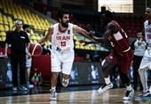 بسکتبال انتخابی کاپ آسیا| پیروزی آسان ایران مقابل قطر