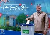 پوستر انتخاباتی شهید سلیمانی در کرمانشاه رونمایی شد