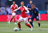 یورو 2020| شوک ترسناک، بازی دانمارک - فنلاند را ناتمام گذاشت/ اریکسن در آستانه مرگ! + عکس