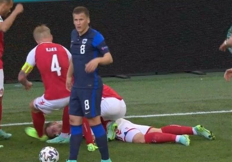 1400032221480994522963214 - یورو 2020| شوک ترسناک، بازی دانمارک - فنلاند را ناتمام گذاشت/ اریکسن در آستانه مرگ! + عکس