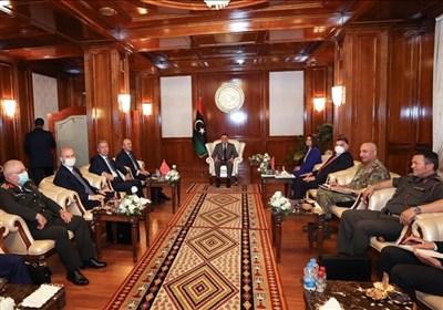 دیدار هیئت بلند پایه ترکیه با نخستوزیر و اعضای شورای ریاستی لیبی