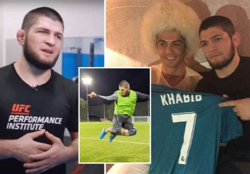 حبیب نورماگمدوف فوتبالیست میشود؟
