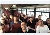 تحویل 15 اسیر نظامی ارمنستان از سوی جمهوری آذربایجان