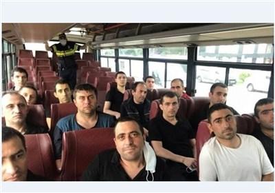 تحویل ۱۵ اسیر نظامی ارمنستان از سوی جمهوری آذربایجان
