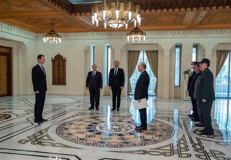 سفیر جدید ایران استوارنامه خود را تقدیم بشار اسد کرد