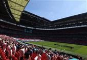 یورو 2020| برتری سه شیر مقابل نایب قهرمان جام جهانی به روایت تصویر