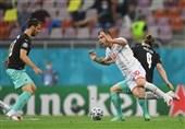 یورو 2020| تساوی اتریش و مقدونیه در پایان نیمه نخست/ ثبت اولین گل تاریخ مقدونیه در تاریخ یورو