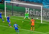 یورو 2020| نبرد جذاب هلند و اوکراین در پایان نیمه نخست برنده نداشت