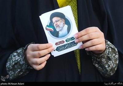 پویش دعوت حضور در میدان راه آهن تهران