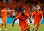 یورو 2020| دامفریس بهترین بازیکن دیدار هلند - اوکراین شد + عکس