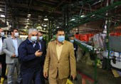 بازدید رئیس سازمان حمایت مصرف کنندگان و تولیدکنندگان کشور از پالایشگاه ایرانول