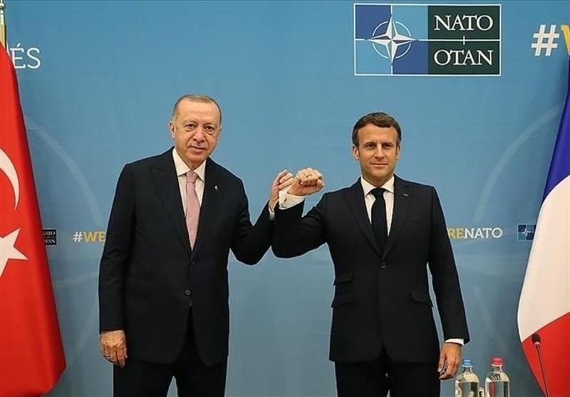 دیدار اردوغان با سران فرانسه و انگلیس در حاشیه اجلاس ناتو