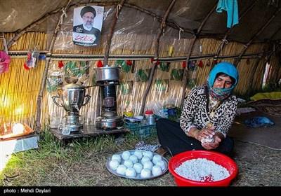 تبلیغات انتخابات 1400 در مناطق عشایری شهرستان اهر