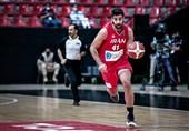 بسکتبال انتخابی کاپ آسیا  کاظمی موثرترین بازیکن ایران شد + آمار