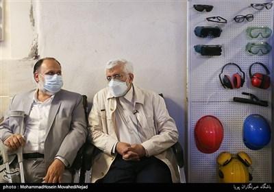 بازدید سعید جلیلی ازکارگاه تولیدی معلولان
