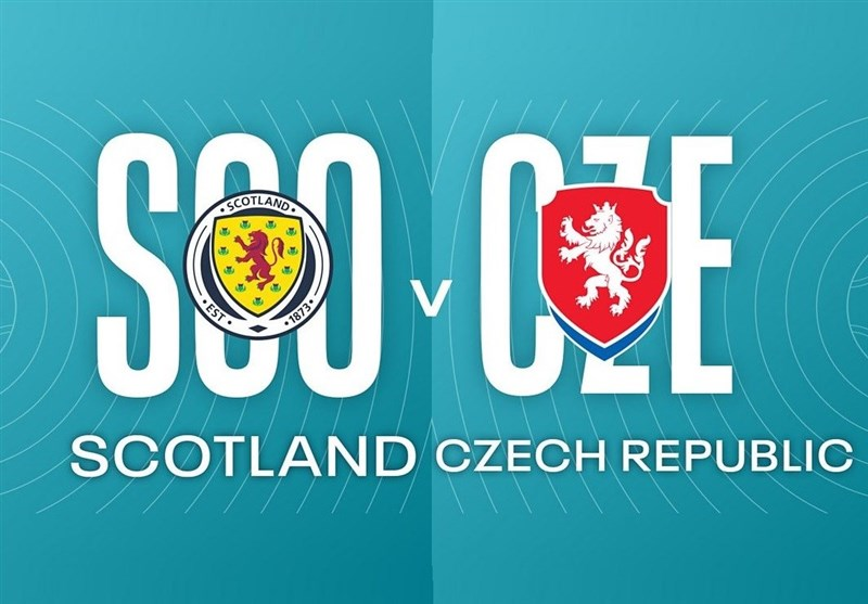یورو 2020  اعلام ترکیب 11 نفره اسکاتلند و جمهوری چک