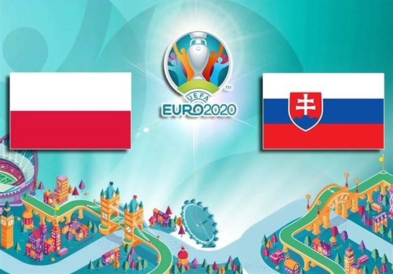 یورو 2020  ترکیب تیمهای لهستان و اسلواکی مشخص شد