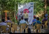 تریبون آزاد دانشآموزان رای اولی قمی به روایت تصویر