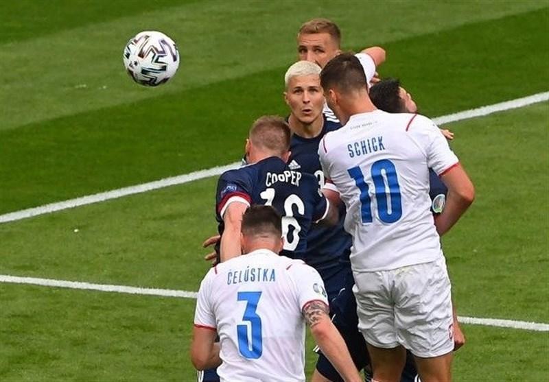 یورو 2020| شکست «شیک» اسکاتلند در خانه/ چک گام اول را محکم برداشت