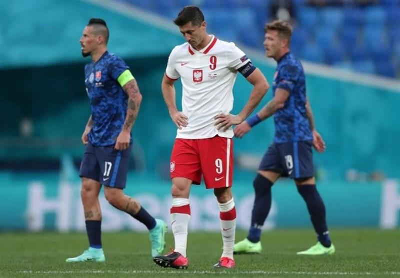 یورو 2020| برتری آماری مانع شکست یاران لواندوفسکی نشد