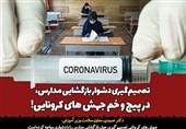 تصمیمگیری دشوار بازگشایی مدارس، در پیچ و خم جهش های کرونایی!/هیچ کشوری دانش آموزان زیر 18 سال را واکسینه نکرده است
