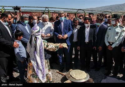 سفر وزیر میراث فرهنگی، گردشگری و صنایع دستی به اهر