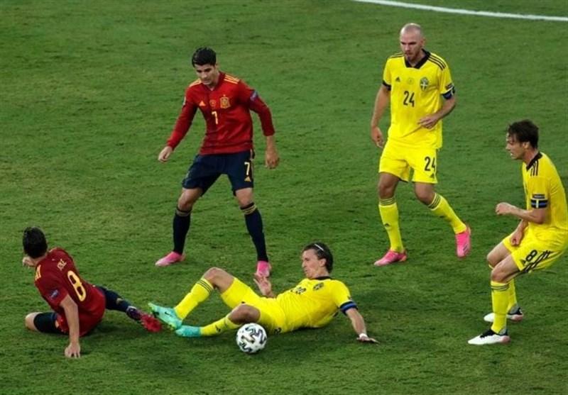 یورو 2020| نیمه اول مصاف اسپانیا و سوئد برنده نداشت