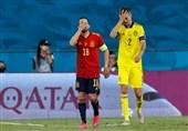 یورو 2020| شروع کمفروغ اسپانیا با تساوی ناامید کننده خانگی برابر سوئد