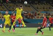 یورو 2020| لیندلوف بهترین بازیکن دیدار اسپانیا - سوئد شد + عکس