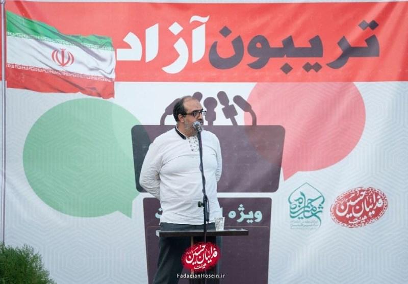 """هیئتیها در اصفهان """"کافه انتخابات"""" راه انداختند + فیلم"""