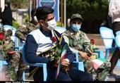 حماسه حضور دانش آموزان در گلزار شهدای کرمان به روایت تصویر