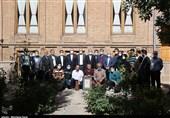 افتتاح موزه مطبوعات تبریز با حضور وزیر میراث فرهنگی به روایت تصویر