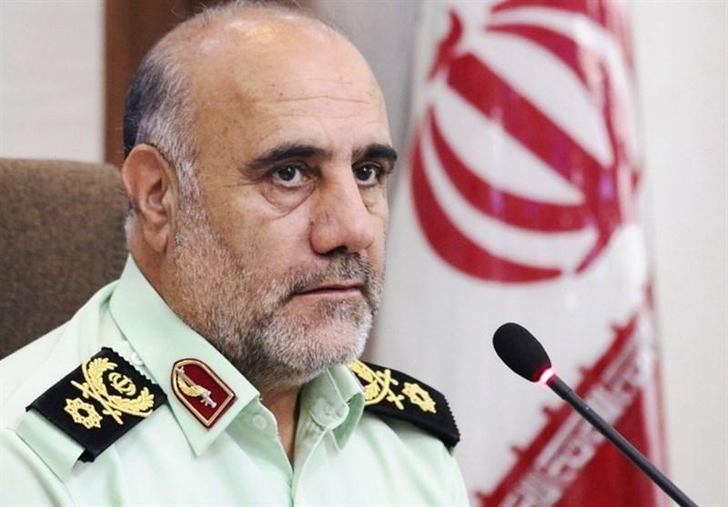 تقاضای رئیس پلیس تهران برای قصاص قاتل سرباز شهید پلیس در محل جرم