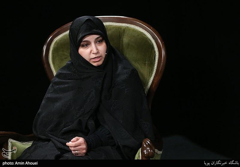 حضور نرگس سلیمانی کاندیدای شورای شهر در خبرگزاری تسنیم