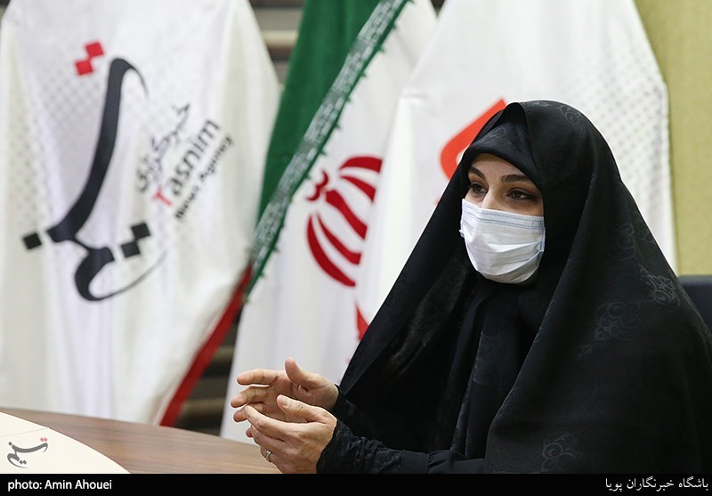 """حضور """"نرجس سلیمانی"""" کاندیدای انتخابات شورای شهر تهران در خبرگزاری تسنیم"""