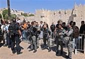 نظامیان صهیونیست منطقه «باب العامود» در قدس اشغالی را بستند + فیلم