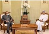 مباحثات ایرانیة - عمانیة تتناول تعزیز التعاون بین البلدین